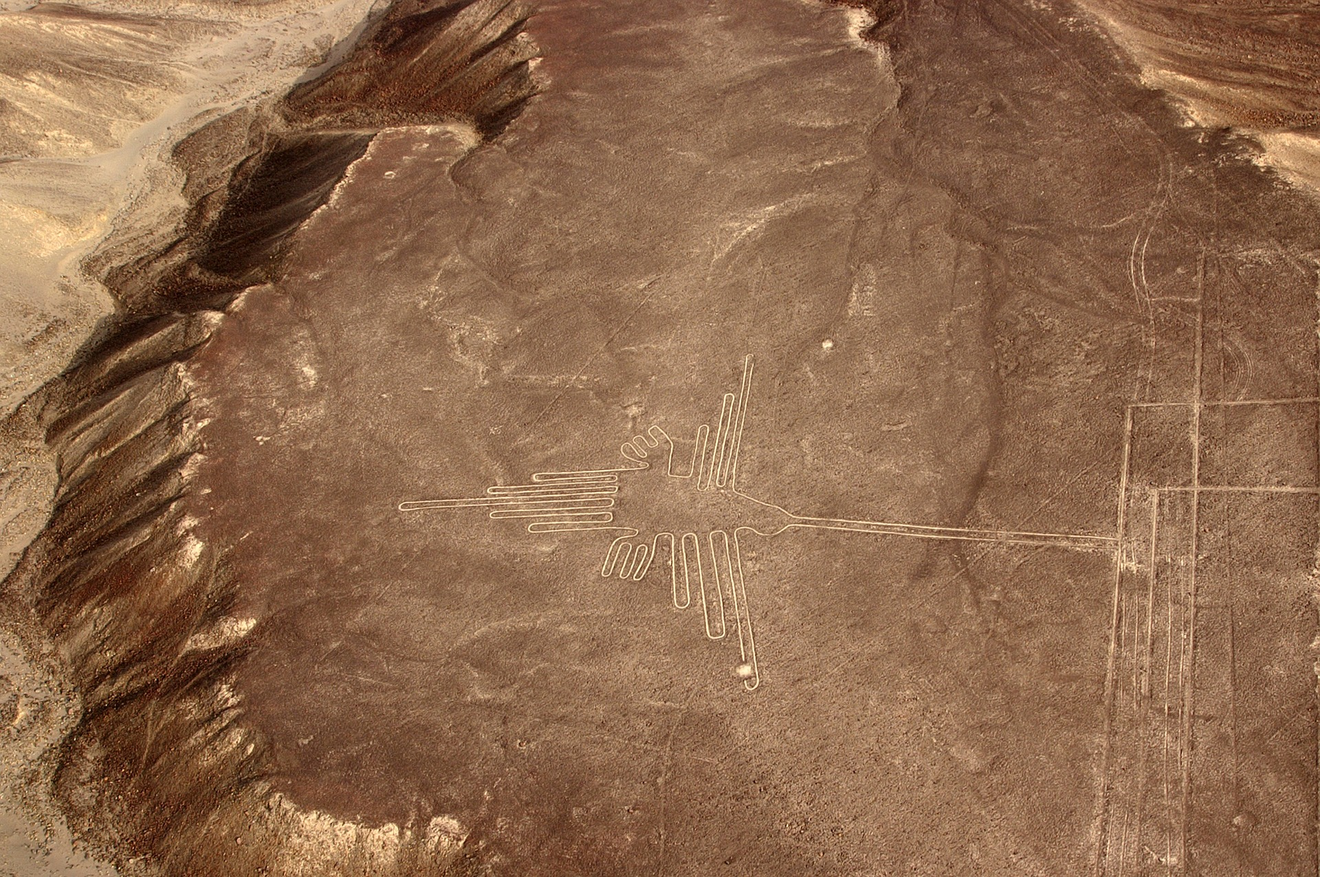 Ein Flug über die rätselhaften Linien von Nazca