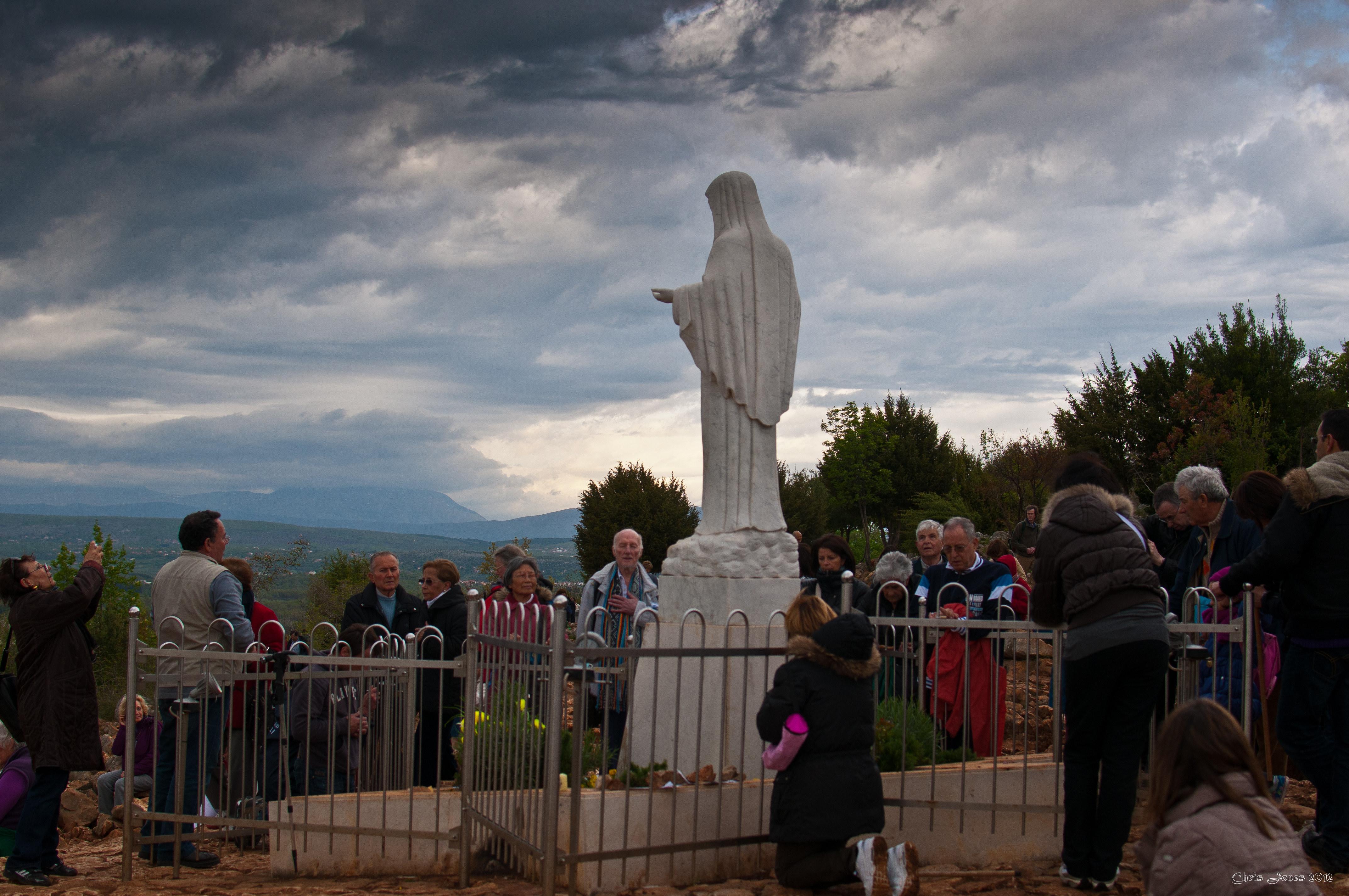 Ein Besuch im umstrittenen Marienwallfahrtsort Medjugorje