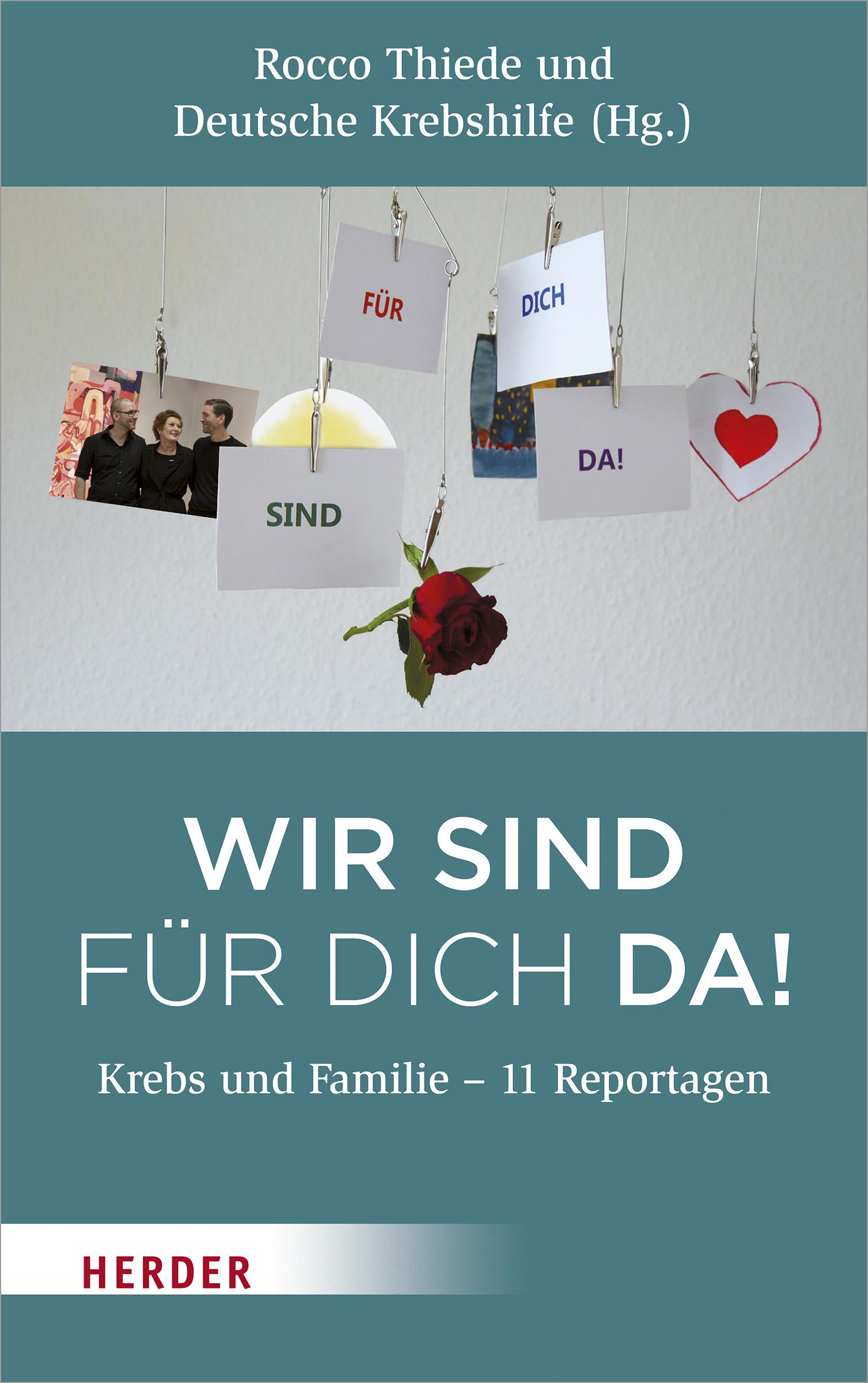 Wir sind für dich da! Krebs und Familie
