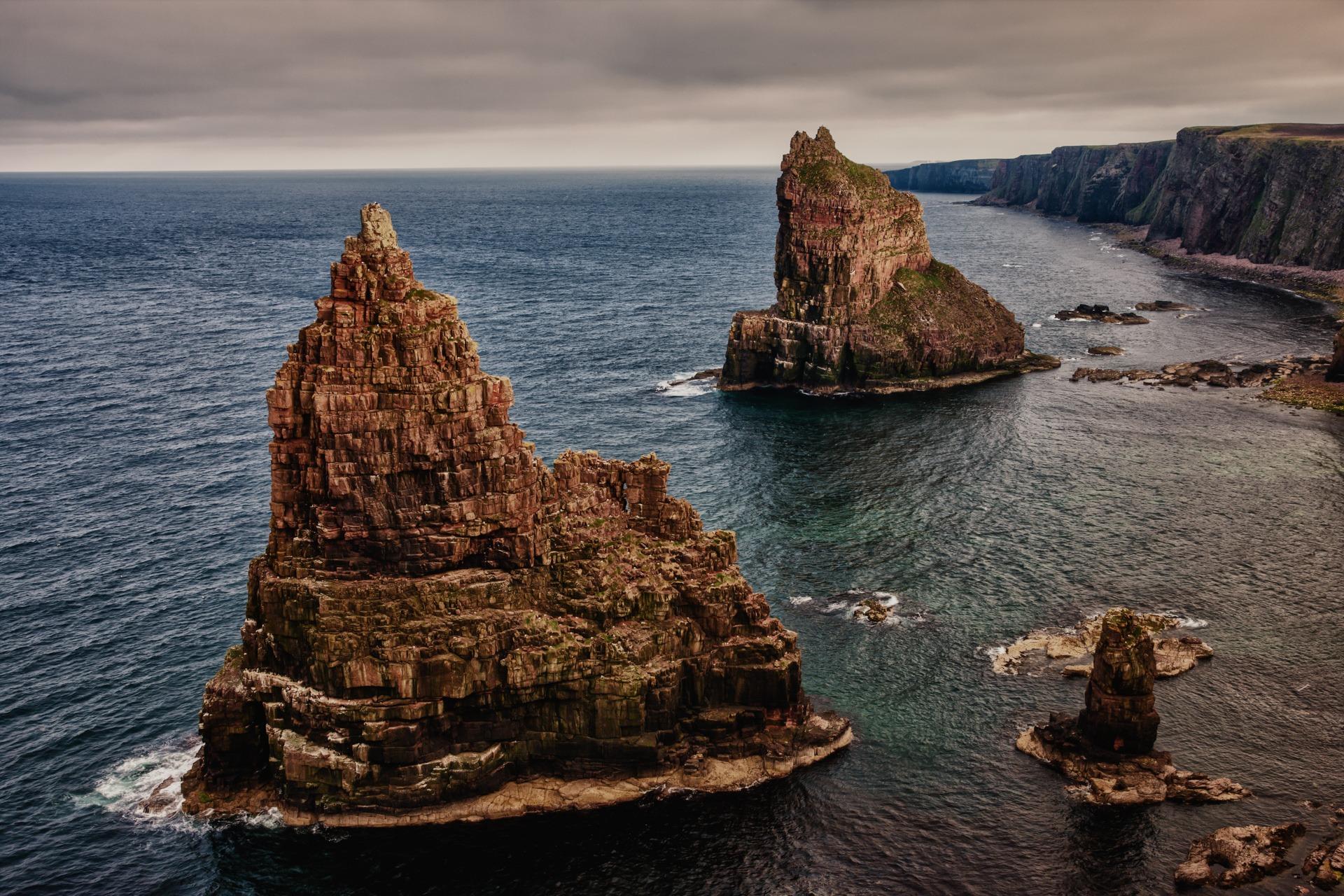 John o'Groats Am nördlichsten Punkt des britischen Festlands